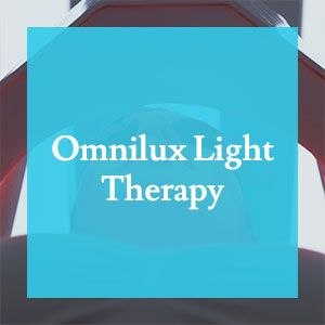 Omnilux Light Therapy Before & After